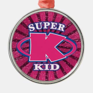Super Kid Girls Ornament