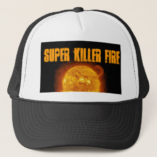 Super Killer Fire Trucker Hat