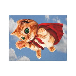 Super Kitty Canvas Print