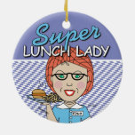 Super Lunch Lady Christmas Tree Ornaments