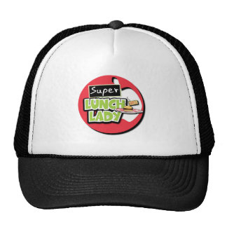 Super Lunch Lady Hats