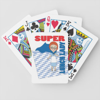 Super Lunch Lady Poker Deck
