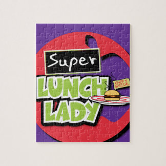 Super Lunch Lady Puzzle