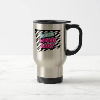 Super Lunch Lady Retro Stainless Steel Travel Mug