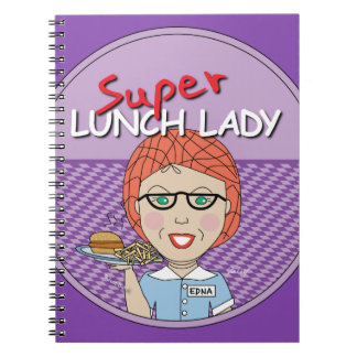 Super Lunch Lady Spiral Notebook