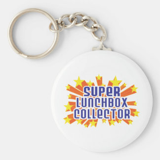 Super Lunchbox Collector Basic Round Button Key Ring