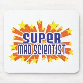 Super Mad Scientist Mouse Pad