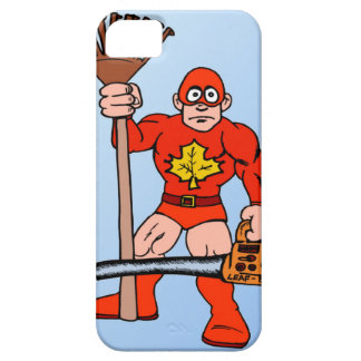 Super man with super tools barely there iPhone 5 case