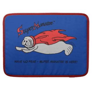 Super Manatee! 15 inch Macbook Pro Sleeve
