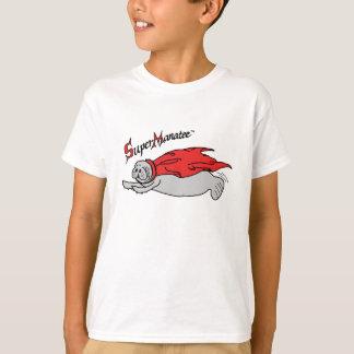 Super Manatee! kids front design T-Shirt