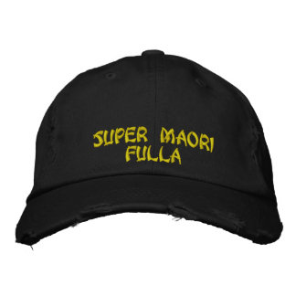 Super Maori Fulla Embroidered Hat