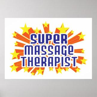 Super Massage Therapist Print