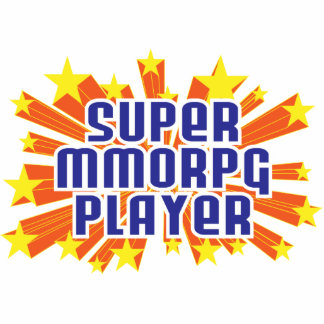 Super MMORPG Player Acrylic Cut Outs