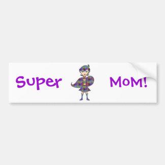 Super MoM! Bumper Sticker
