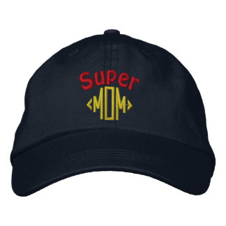 Super Mom Embroidered Hats