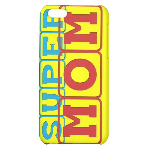 Super Mom II iPhone 5C Cases