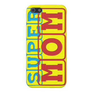 Super Mom II iPhone 5 Cover