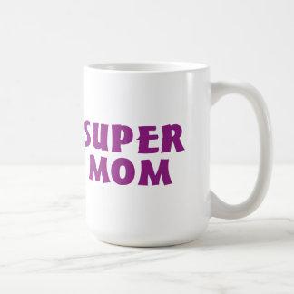 Super Mom Basic White Mug