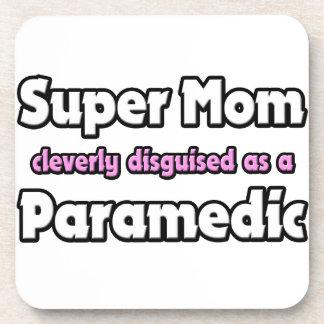 Super Mom ... Paramedic Drink Coaster