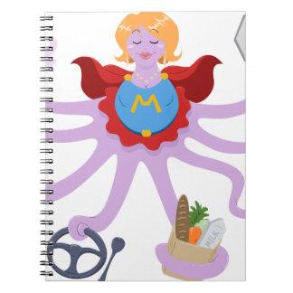 Super Mom Spiral Notebook