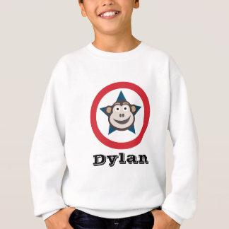 Super Monkey Customisable Kid's Sweatshirt