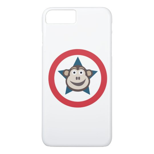 Super Monkey Graphic IPhone 7+ Case Barely There