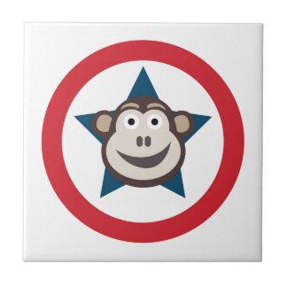 Super Monkey Graphic Tile