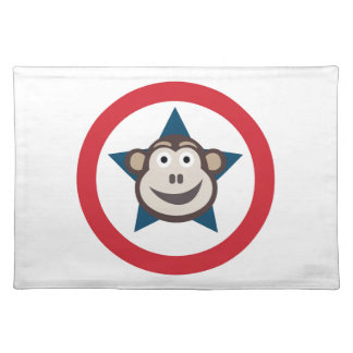 Super Monkey Place Mat