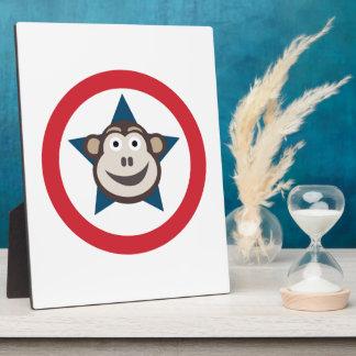 Super Monkey Plaque