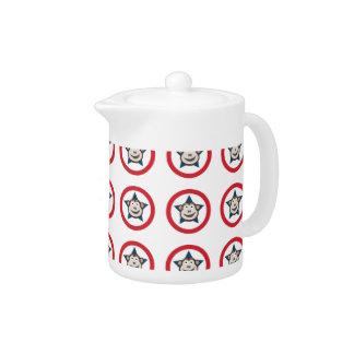 Super Monkey Teapot