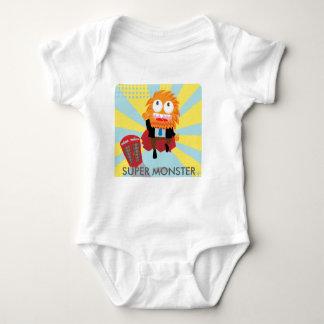 Super Monster Baby Bodysuit