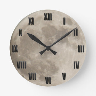 Super Moon November 13th 2016 Round Clock