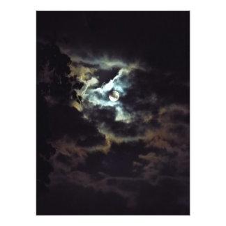 super moon of the night sky photo print