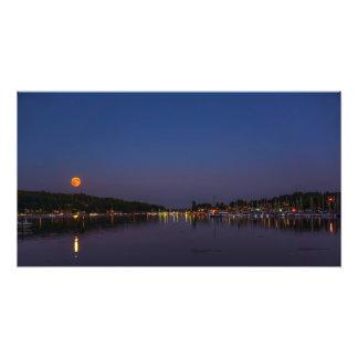 Super Moon Photo Art