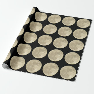 Super Moon Wrapping Paper