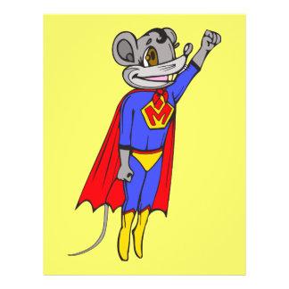 Super Mouse 21.5 Cm X 28 Cm Flyer
