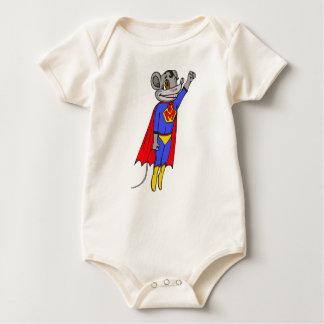 Super Mouse Baby Bodysuit