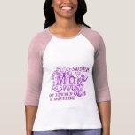Super Mum decorative purple kids names top Tshirts