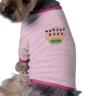 Super Mum Pet T-shirt