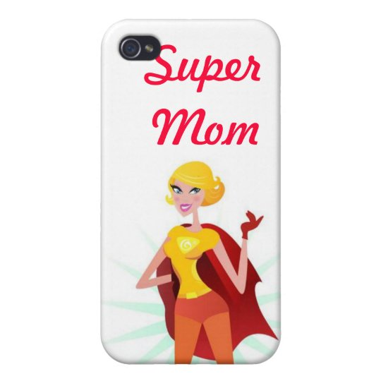 Super Mum iPhone 4/4S Covers