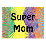 Super Mum postcard