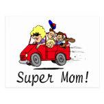 Super Mum (Van) Postcards