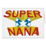 SUPER NANA CARD