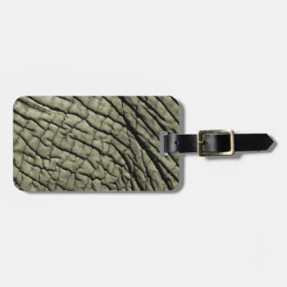 Super Natural Wild Elephant Skin Luggage Tag