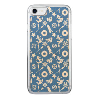 Super Nautical Pattern Carved iPhone 8/7 Case