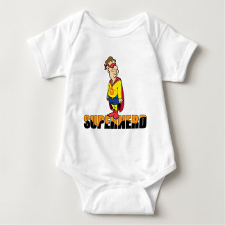 Super-Nerd Baby Bodysuit