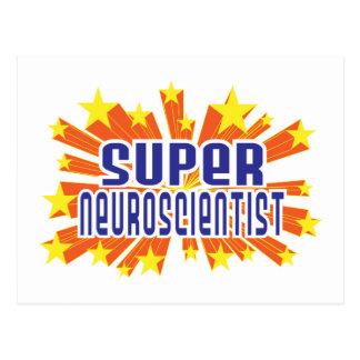 Super Neuroscientist Postcard
