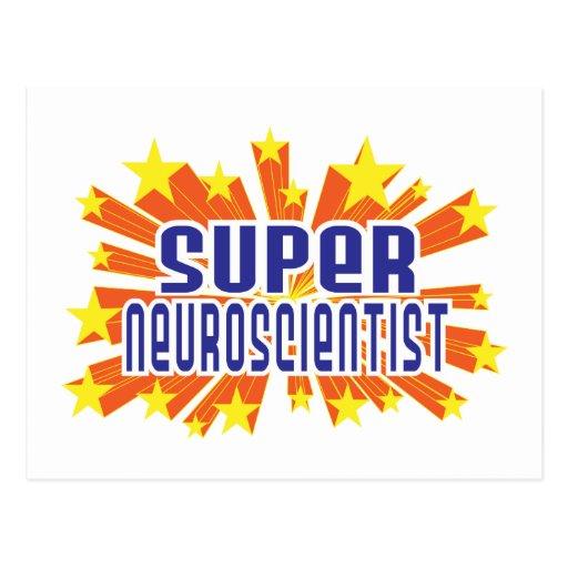 Super Neuroscientist Post Card