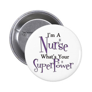 Super Nurse 6 Cm Round Badge