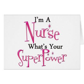 Super Nurse Cards